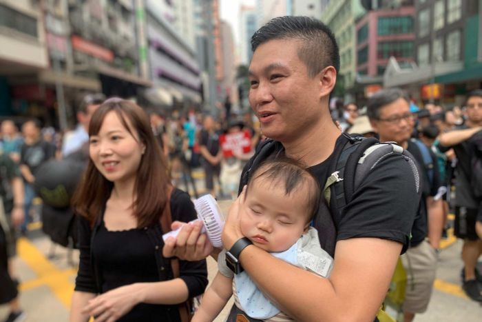 """Hong Kong Father's Day March"" Biggest March in Chinese History"